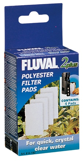 Fluval 2 Plus Polyester Pads A490