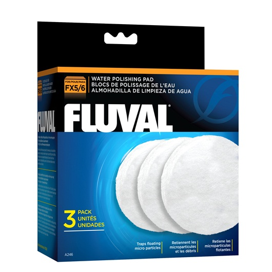 Fluval FX5 Water Polishing Pad, 3 Pack A246