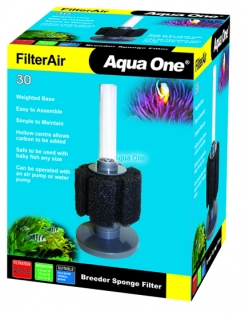 AQUA ONE FILTER AIR 30 BREEDER SPONGE FILTER 19884