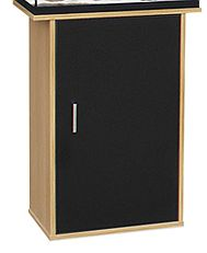 Aqua One Aqua LED 68 Cabinet with Reversible Doors Black/Oak 52114COK COLLECTION ONLY
