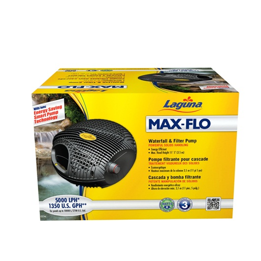 Laguna Max-Flo 5000 Waterfall & Filter Pump, for ponds up to 10200 L  PT8240