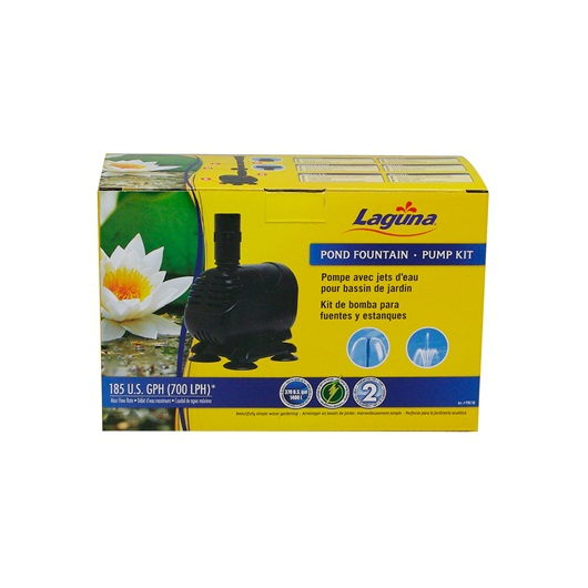 Laguna Pond Fountain Pump Kit, for pond up to 700L  PT8150