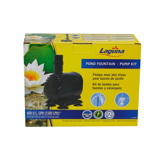 Laguna Pond Fountain Pump Kit, for ponds up to 1500L PT8155
