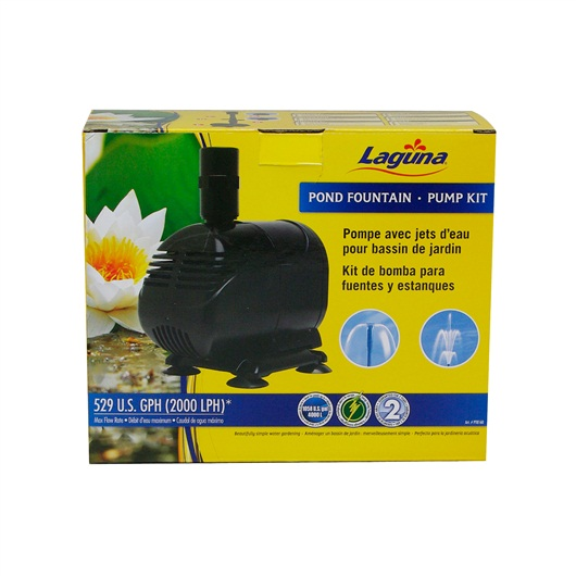Laguna Pond Fountain Pump Kit, for ponds up to 2000 L PT8160
