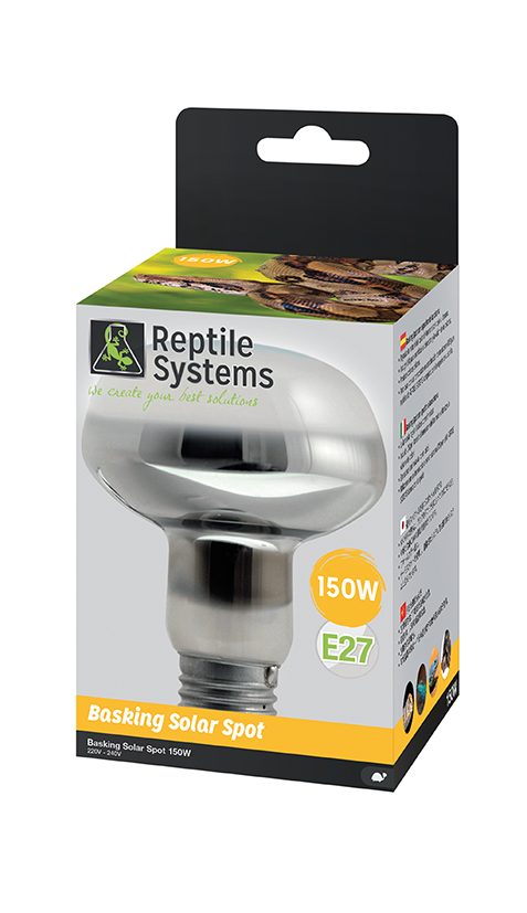 REPTILE SYSTEMS BASKING UVA SPOT LAMP 150watt