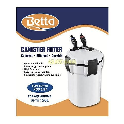 Betta 700 EXTERNAL FILTER Upto 150L Aquariums