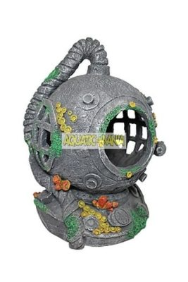 Aqua One  Divers Helmet Medium 20cm  Aquarium Ornament 37190s