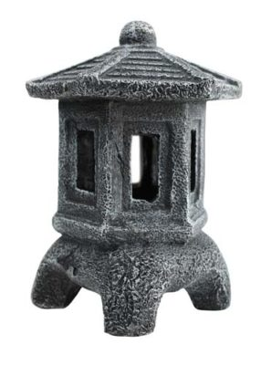 Aqua One Japanese Lantern Aquarium Ornament11.5×11.5×14.5cmH 36940
